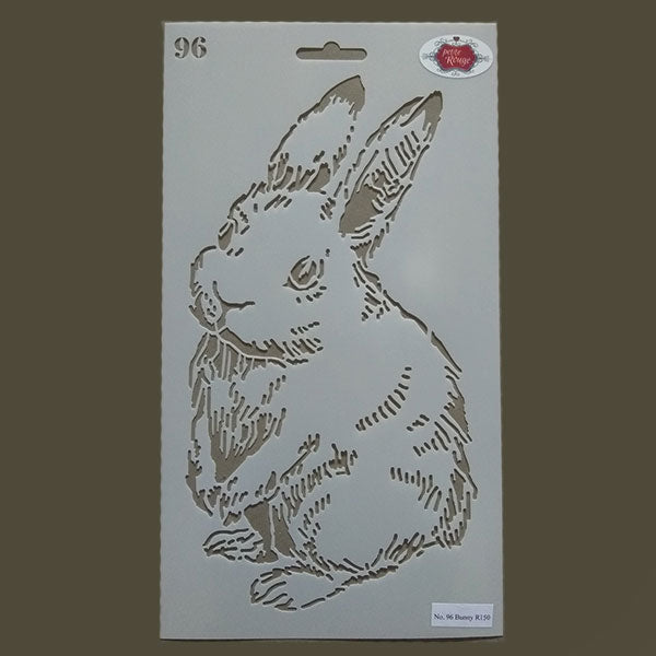 No.96 Bunny (190mm x 345mm)