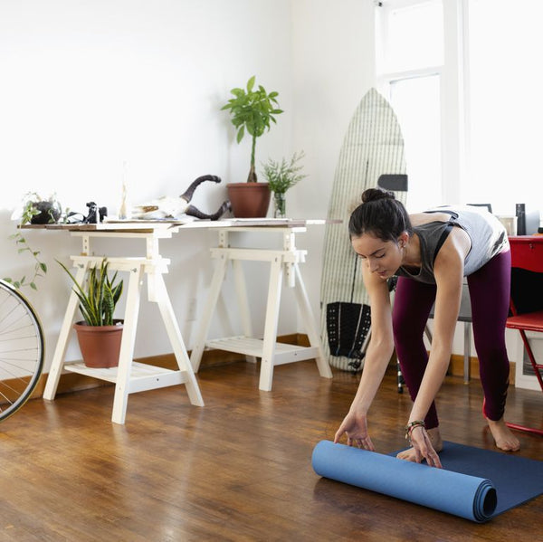WOMENS HEALTH MAGAZINE: Here's Exactly How to Clean Your Yoga Mat