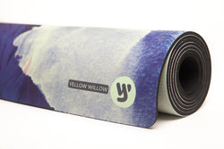 PRE-ORDER ~ Yoga Mat: MOROCCAN FEATHER