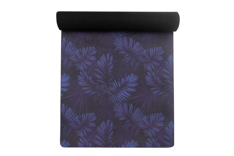 XL Yoga Mat: MIDNIGHT PALM