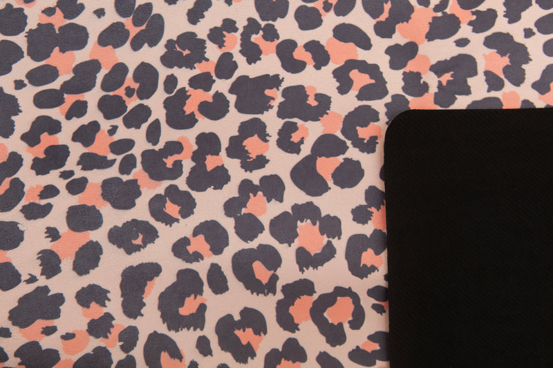 Yoga Towel: BLUSH LEOPARD