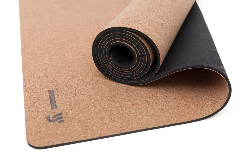 Yoga Mat: NEUTRAL & NATURAL CORK