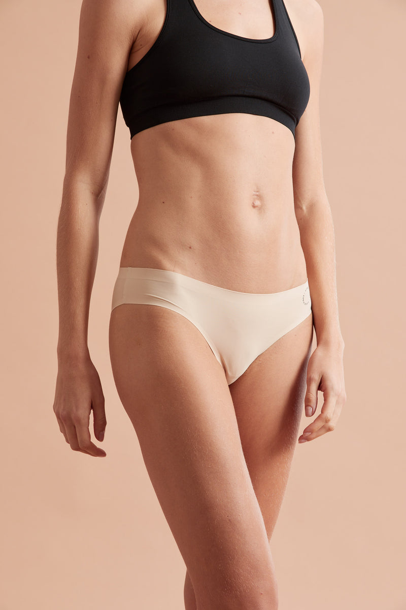 Invisible Active Undies: Yogini-Bikini
