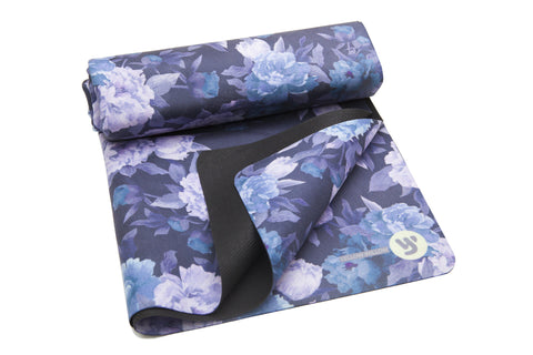 Yoga Towel: DARK ROSE