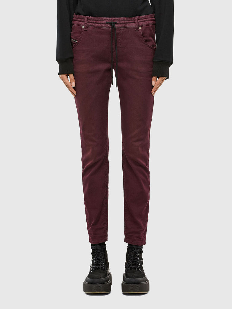 W21 KRAILEY R-NE Sweat Jeans (BURGUNDY)