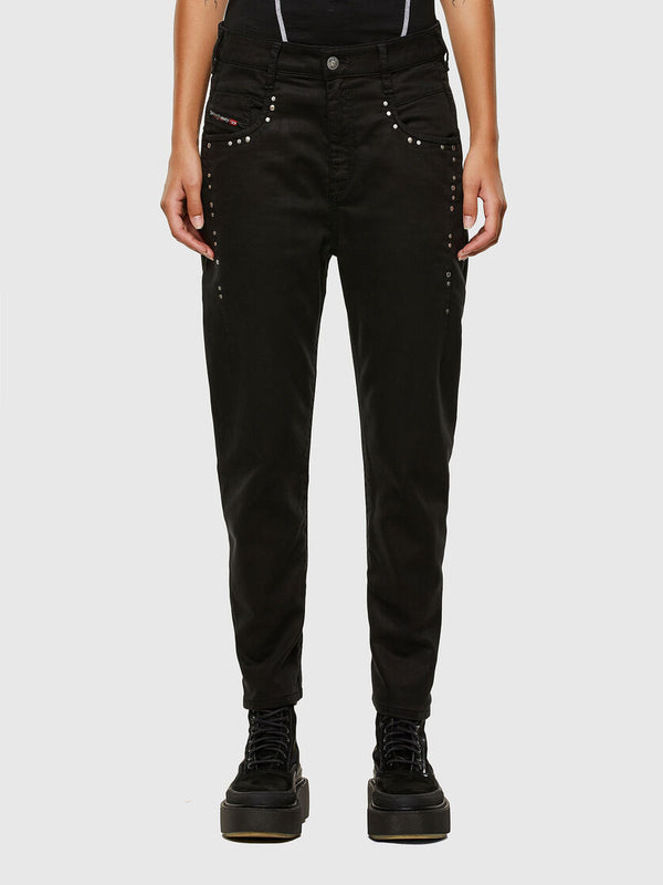 W21 D-FAYZA-B-NE Sweat Jeans (Black)