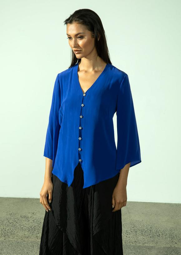 NEW MONA Top (Persian Blue)