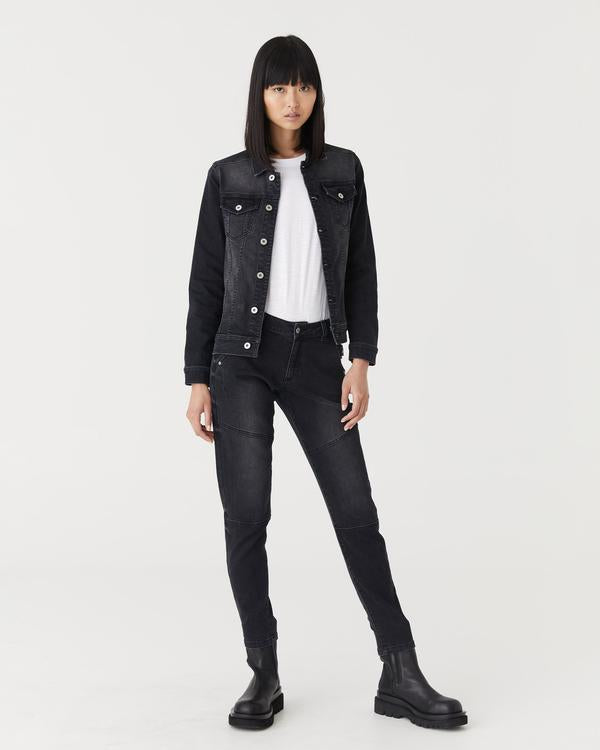 Preston Denim Jacket (Black Wash)
