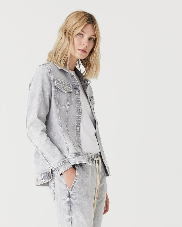Preston Denim Jacket (Grey Wash)