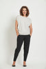 Ankle Pleat Basque Pant