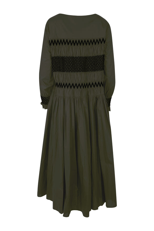 WE'RE SHIR ABOUT IT Dress (KHAKI/BLACK)