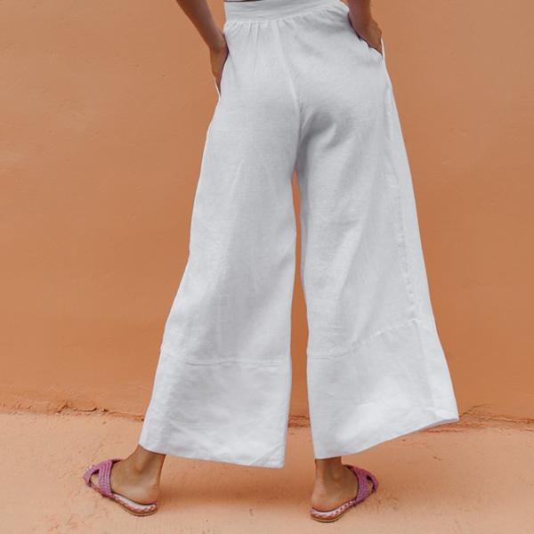 Casual Loose Solid Color Pants