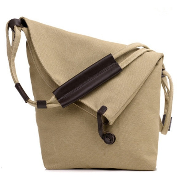 Women Rucksack Sling Carrying Bag Shoulder Canvas Body Messanger Bag