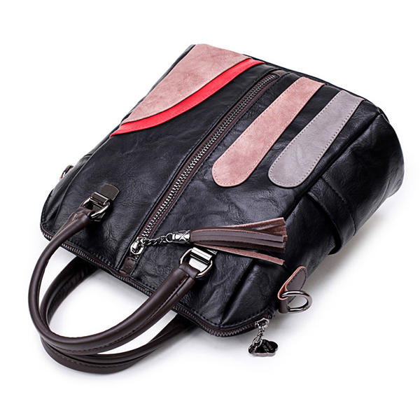Women Soft Multi-funtion Backpack Vintage Patchwork Crossbody Bags
