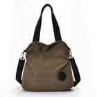 Woman Casual Canvas Shoulder Bag Handbags Crossbody Travel Tote Bags