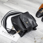 Fashion Leather Bucket Bag Single Shoulder Bag Small Handbag