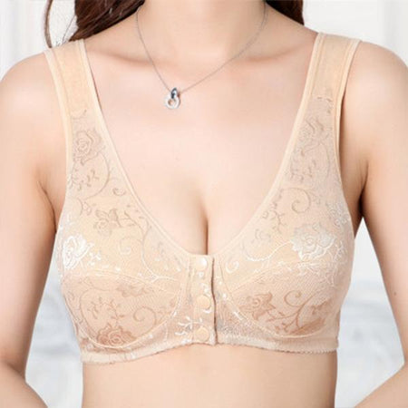 Wireless Sleeping Bra Broad Shoulder Vest Underwear
