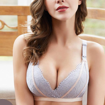 Comfortable Non-wired Nursing Back Closure Bra