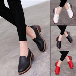 PU  Oxford Flat Shoes For Women