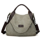 Large Pocket Casual Handbag Shoulder Cross body Canvas Bags
