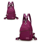 Waterproof Oxford Fabric Chest Bag Upgrade High-End Daily Crossbody Backpack