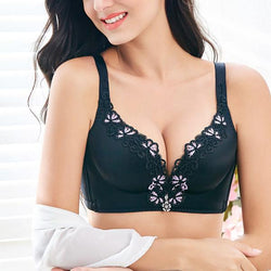 3/4 Cup Adjusted Straps Wireless Push Up Bras