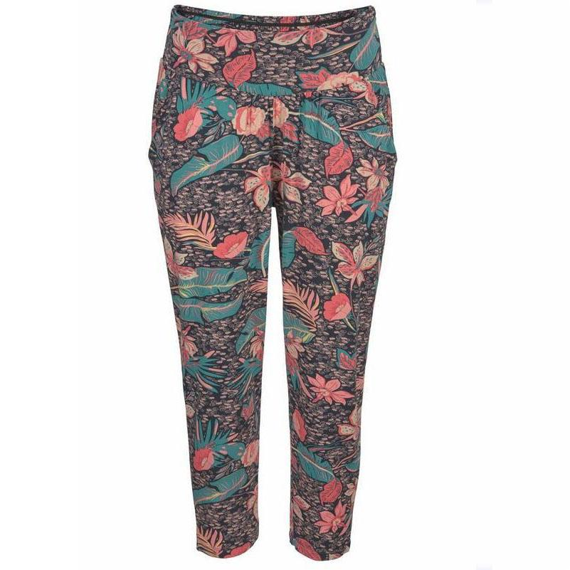 Women Printed Calf Length Beach Pants