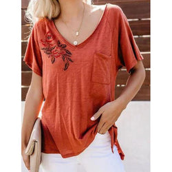 Summer Short Sleeve Casual T-Shirt