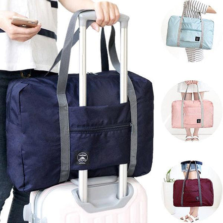 Large Travel Bag Waterproof Storage Bag Luggage Folding Handbag Shoulder Bag Storage Container