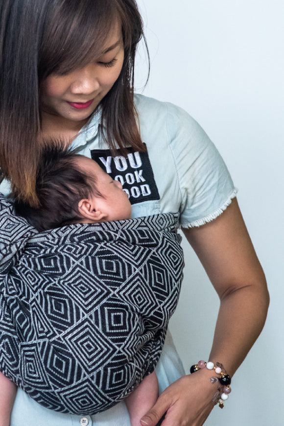 Maze: Cotton Ring sling
