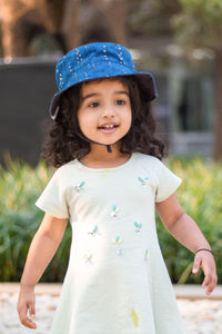 Pari: Cotton Printed Sunhat