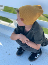 Load image into Gallery viewer, Winter Beanie - Mustard Yellow