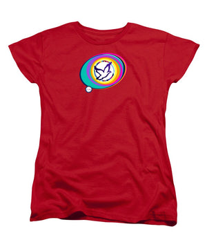 Psychedelic Dove Vortex - Women's T-Shirt (Standard Fit)