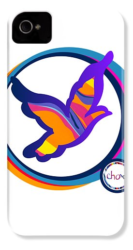 Psychedelic Dove - Phone Case