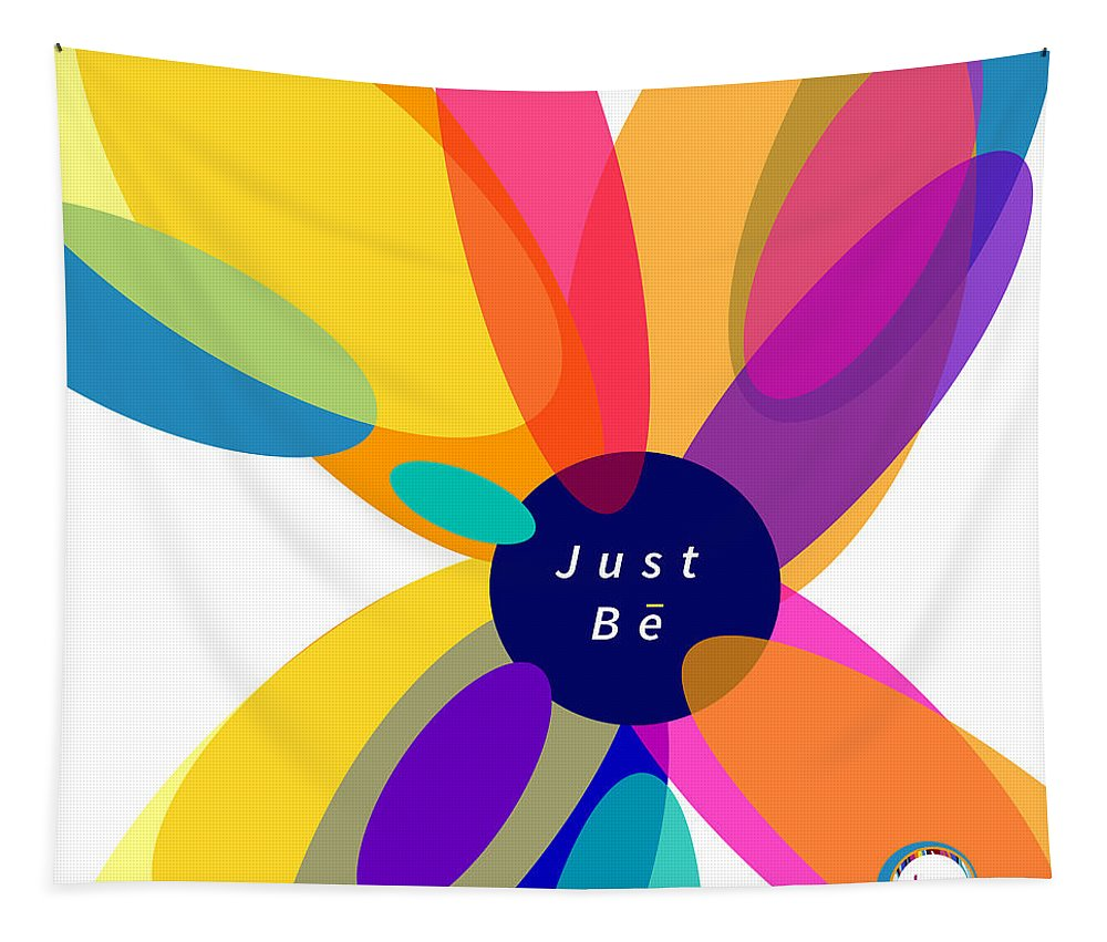 Just Be - Kaleidoscope - Wall Tapestry