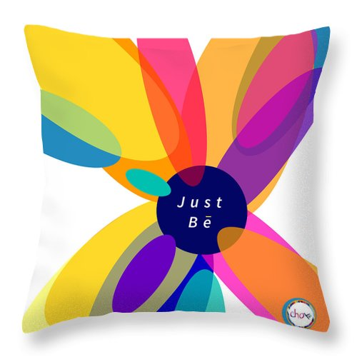 Just Be - Kaleidoscope - Throw Pillow