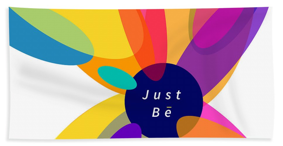 Just Be - Kaleidoscope - Beach Towel