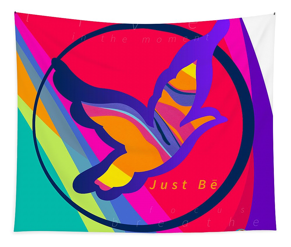 Just Be - Subliminal - Wall Tapestry