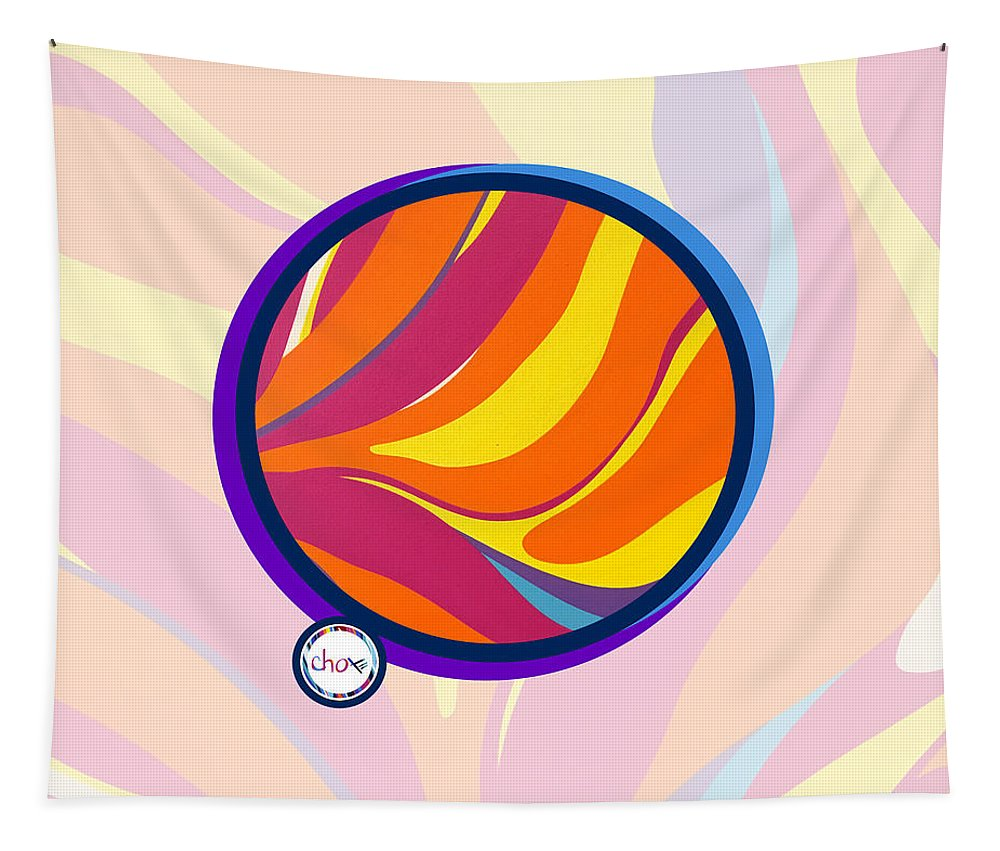 Abstract Sun Vision - Wall Tapestry