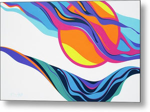 Abstract Seascape - Metal Print