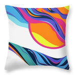 Abstract Seascape - Throw Pillow