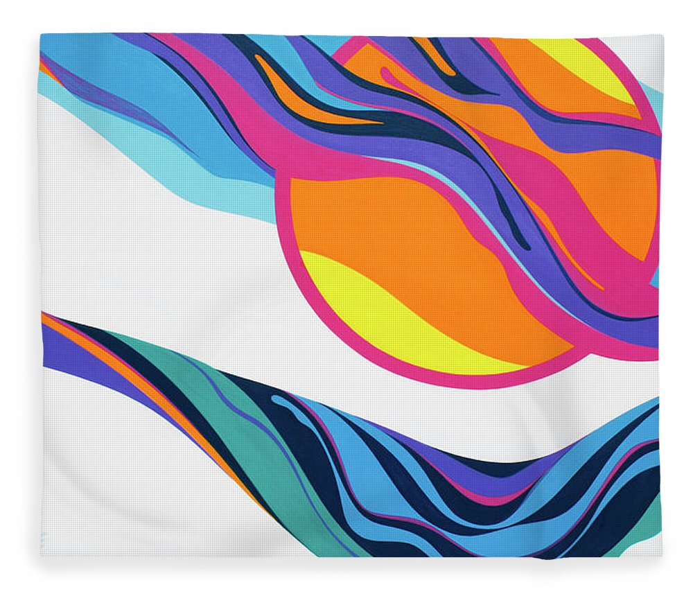 Abstract Seascape - Blanket