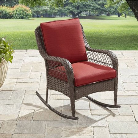Better Homes And Gardens Colebrook Rocking Chair Keemofurniture