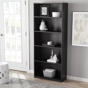 Mainstays 5 Shelf Bookcase Multiple Colors