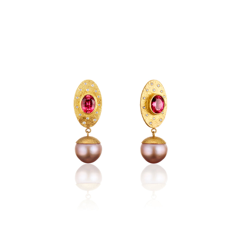 Pearl Empress Earrings*