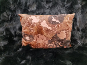 Calfskin Throw Pillow