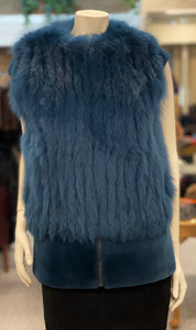 Fox and Mink Fur Vest