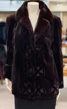 Load image into Gallery viewer, Mahogany Sheared Mink Jacket