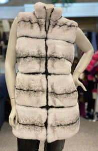 Reversible Rabbit Vest (Long)