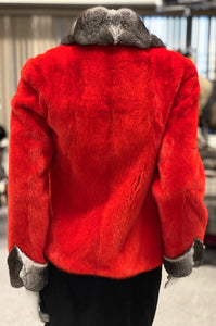 Red Mink/Chinchilla Jacket